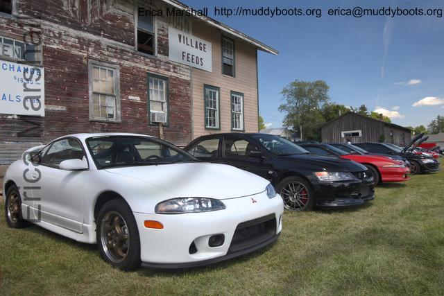 white 2g eclipse at the car show. Black Bedroom Furniture Sets. Home Design Ideas