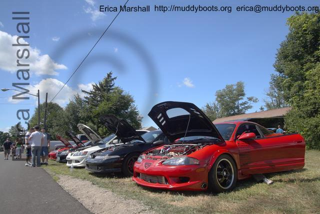 Red 2g at the Car Show