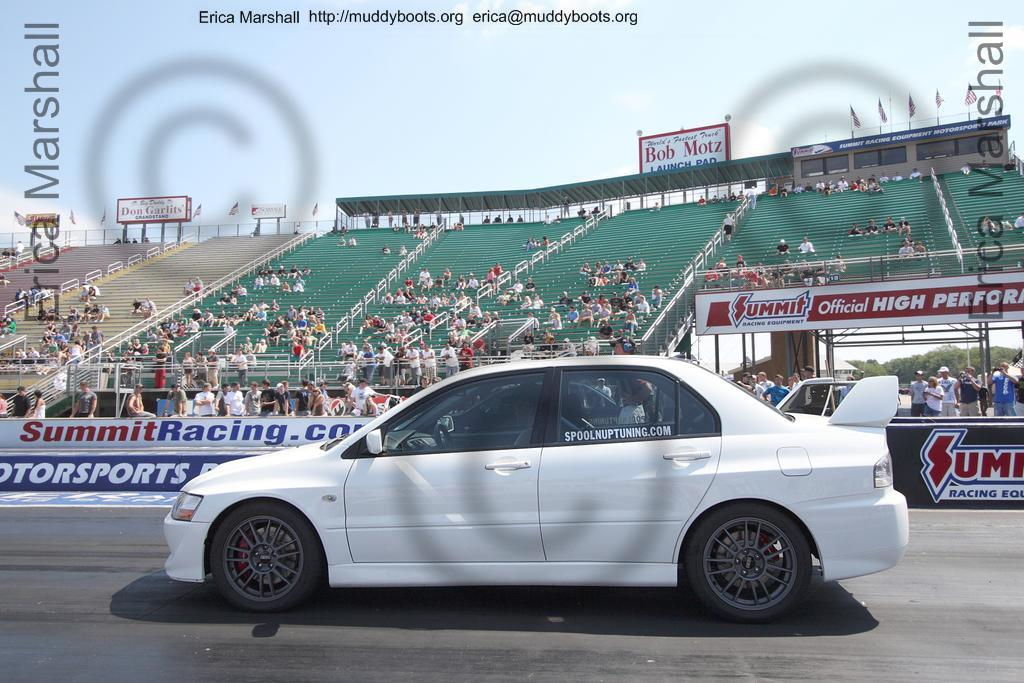 White SpoolNUp Tuning Evo